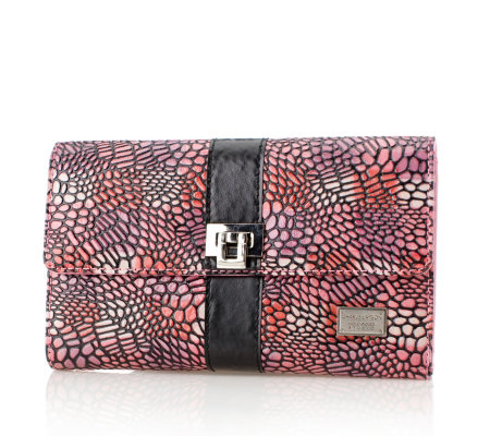 Charlie Lapson Reptile Effect Leather Purse