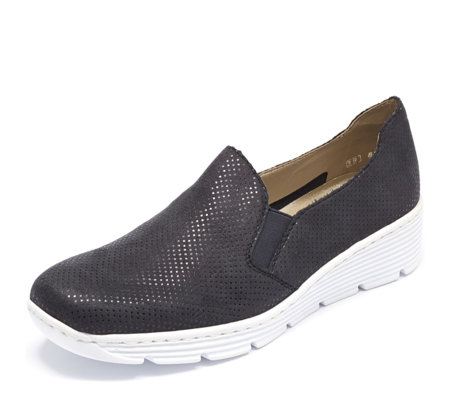 Rieker Casual Slip On Wedge Shoe