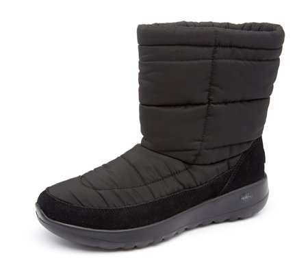 Skechers On The Go Joy Puffer Upper Mid Height Boot