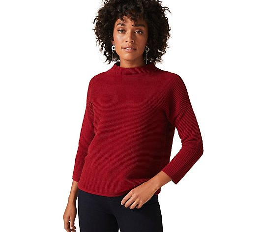 Phase Eight Rosemary Ripple Knit Jumper
