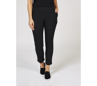 53d9d24de2a2 Women with Control Tummy Control Petite Pull On Trousers - 171456