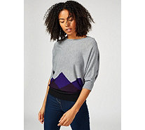 Phase Eight Angeletta Argyle Knitted Jumper - 176056