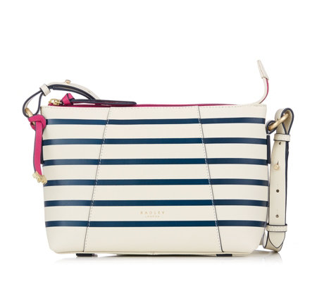Radley London Wood Street Stripe Crossbody Bag