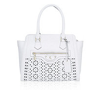 Ashwood Leather Structured Tote Bag with Cutout Detail - 171157