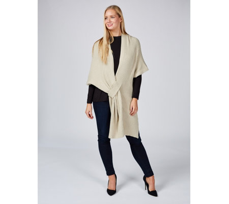 Attitudes by Renee Convertible Poncho