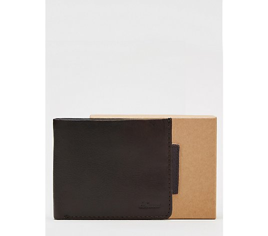 Ashwood Men's Wallet With Coin Pocket in Gift Box