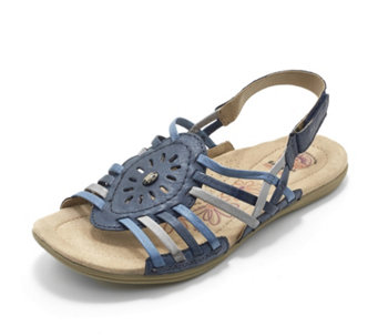 Earth Spirit Corona Multi Strap Adjustable Strap Sandal - 162658