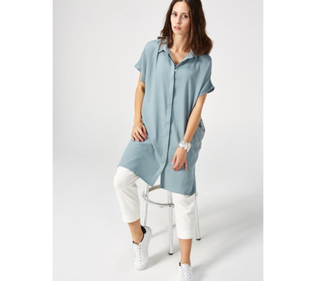 WynneLayers Two Pocket Shirt Dress