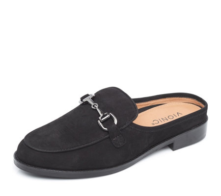 Vionic Orthotic Wise Salie Backless Loafer w/ FMT Technology