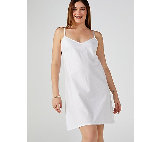 Cyberjammies White Stripe Strappy Chemise