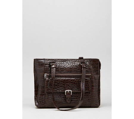 Ashwood Buckle Pocket Leather Shoulder Bag