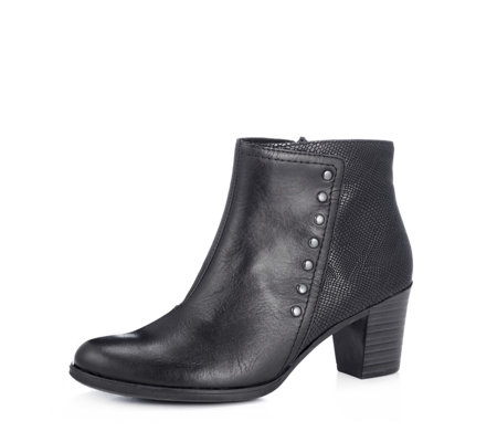 Rieker Snake Effect Side Stud Boot