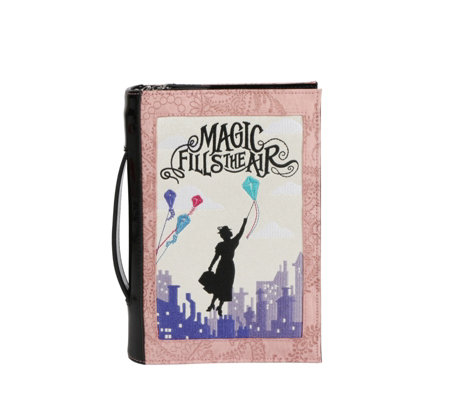 Danielle Nicole Mary Poppins Book Clutch Bag