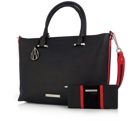 Amanda Wakeley The Campbell Tote Bag & Purse Set