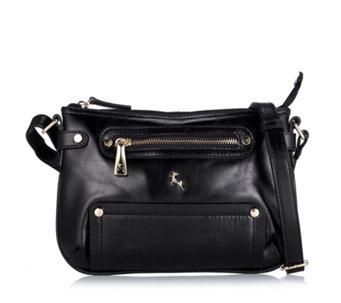 Ashwood Leather Zip Pocket Mini Crossbody Bag - 174960 d38720cb9baed