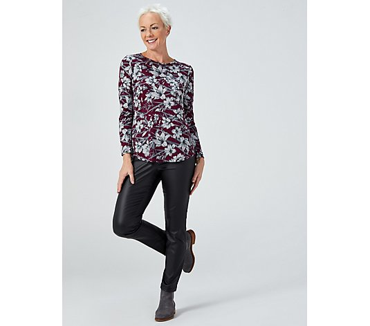 Mr Max Printed Topaz Knit Jersey Tunic