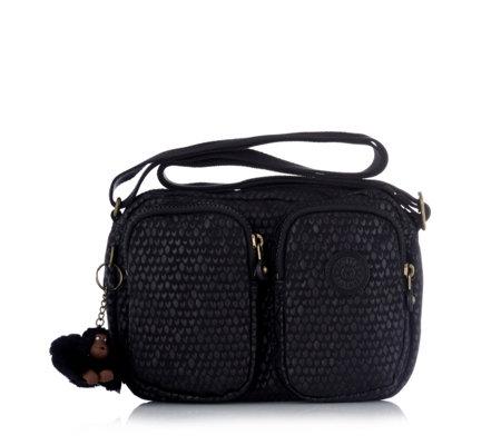 ccc2c6ad02b Outlet Kipling Premium Shoulder Bag with Adjustable Strap and Outer Pockets