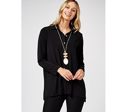MarlaWynne Luxe Crepe Shirt