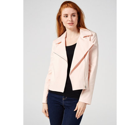 Helene Berman Cotton Biker Jacket