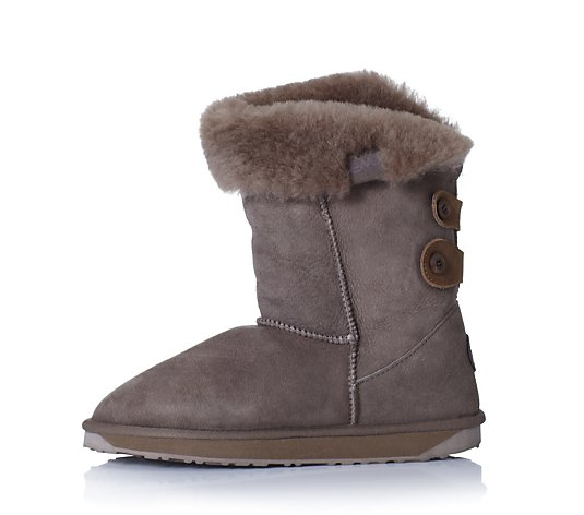 Emu Australia Ladies Alba Water Resistant Sheepskin Boot Qvc Uk