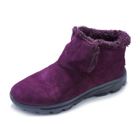 Skechers On The GO Chugga Suede Ankle Boot with Memory Foam