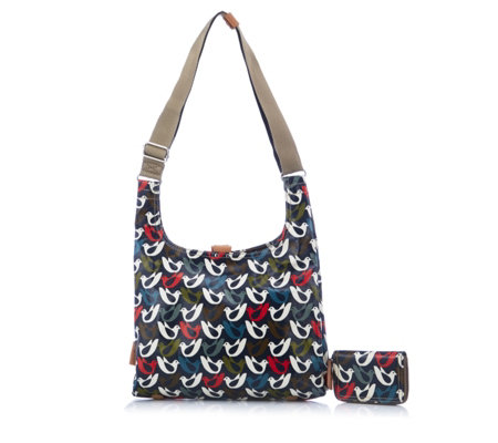 Orla Kiely Midi Sling Bag With Zip Purse