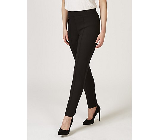 Mr Max Slim Ankle Length Lux Ponte Trousers