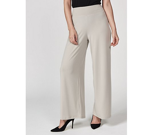 Kim & Co Brazil Jersey Palazzo Trousers Tall Length
