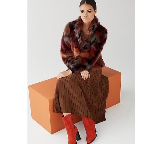 Centigrade Faux Fur Coat