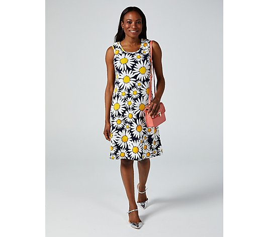 Ronni Nicole Sleeveless Floral Printed Dress