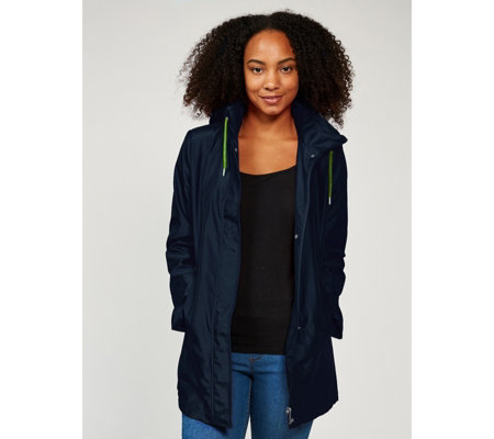 fashionable and attractive package cheap cheapest sale Details Lightweight Packable Raincoat - QVC UK