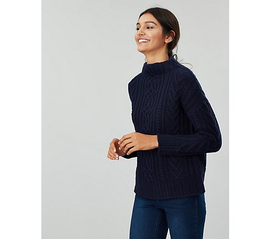 Joules Jamie Cable Knit Jumper