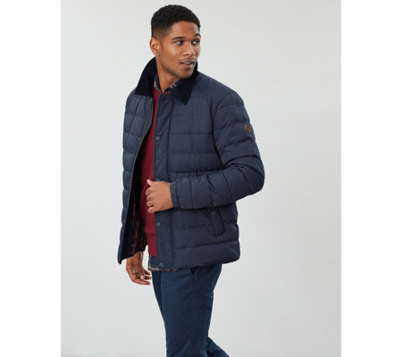 Joules Mens Bayford Padded Outerwear Coach Jacket