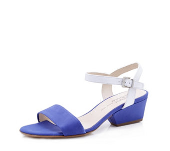 Peter Kaiser Two Tone Sandal with Ankle Strap - 164367