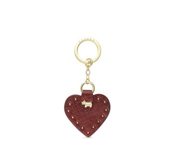 Radley London Heart Stud Keyring in Gift Box - 169067