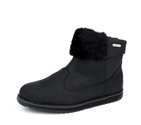 Emu All Weather Waterproof Pedy Pull Up Leather Ankle Boot