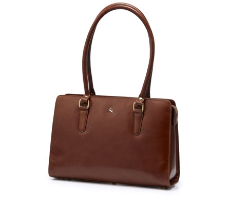 Ashwood Leather Large Flat Workbag