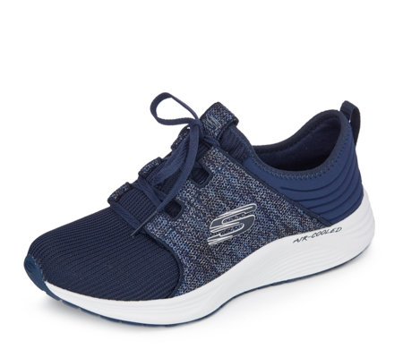 Skechers Skyline Sparkle Slip On Trainer