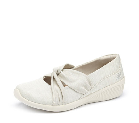Skechers Arya Jersey Knot Mary Jane Wedge
