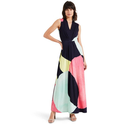 Phase Eight Spot Print Maxi Dress