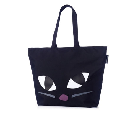 Lulu Guinness Luisa Kooky Cat Tote Bag
