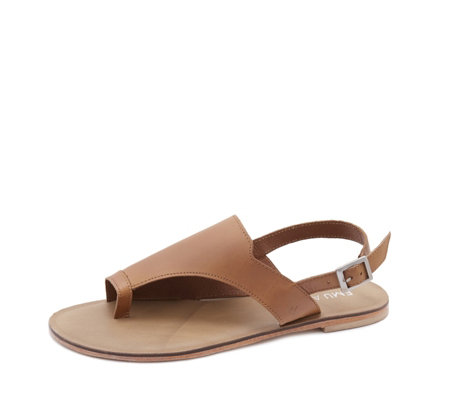 Emu Mado Leather Slingback Sandal with Toe Loop