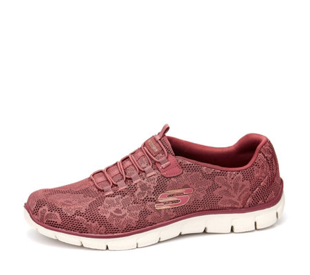 Skechers Empire Night Bloom Lace Bungee Slip On