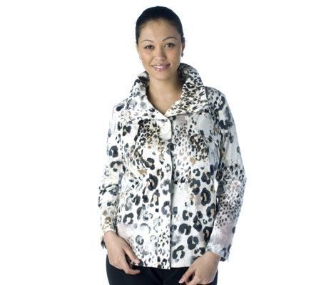 f0d9a0a61f16 Fashion by Berek Wild Nature Animal Print Jacket - QVC UK