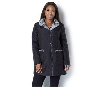 106b1d9b1d51 Centigrade Water Resistant Reversible Faux Fur Coat - 160770