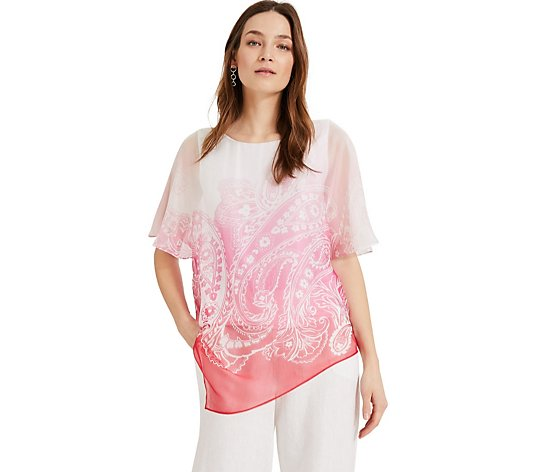 Phase Eight Paisley Silk Blouse