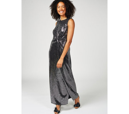 Phase Eight Dahlia Shimmer Twist Maxi Dress