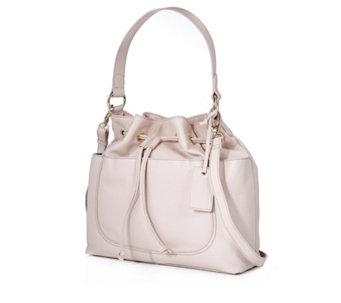 Ashwood Leather Drawstring Detail Bag - 176671 026aa0ce2cd70