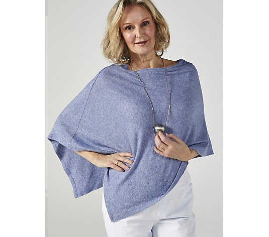 Mr Max Cosy Soft Touch Knit Poncho