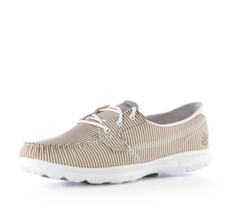 Skechers GO STEP Sandy Seersucker Boat Shoe - 164872